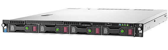 HPE ProLiant DL60 Gen9 configure-to-order rack server with eight DIMM slots and four large form factor drive bays