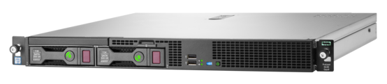 HPE ProLiant DL20 Gen9 configure-to-order Server with four small form factor drive bays